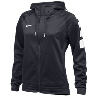 Nike Team Elite Stripe Hoodie - Women's - Black / White