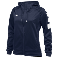 Nike Team Elite Stripe Hoodie - Women's - Navy / White