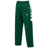 Nike Team Elite Stripe Pants - Women's - Dark Green / White