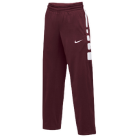 Nike Team Elite Stripe Pants - Women's - Cardinal / White