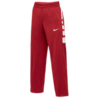 Nike Team Elite Stripe Pants - Women's - Red / White