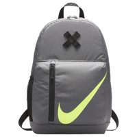 Nike Young Athletes Elemental Backpack - Grade School - Grey / Black