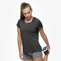 Eastbay EVAPOR Feather Light T-Shirt - Women's - All Black / Black