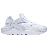 Nike Huarache Run - Boys' Grade School - All White / White