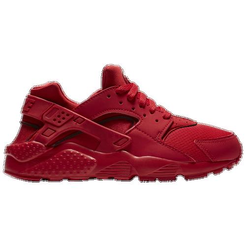 Nike Huarache Run - Boys\u0027 Grade School - Red / Red