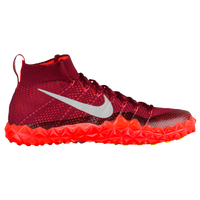 Nike Alpha Sensory Turf - Men's - Orange / Maroon