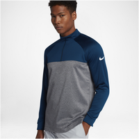 Nike Therma Fit 1/2 Zip Cover Up - Men's - Navy / Grey