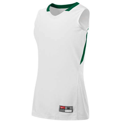 Nike Team Condition Game Jersey - Women's - Basketball - Clothing - White/Dark  Green