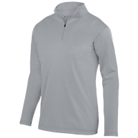 Augusta Sportswear Team Wicking Fleece Pullover - Men's - Grey / Grey