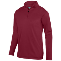 Augusta Sportswear Team Wicking Fleece Pullover - Men's - Cardinal / Cardinal