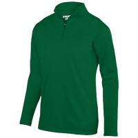 Augusta Sportswear Team Wicking Fleece Pullover - Men's - Dark Green / Dark Green