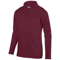 Augusta Sportswear Team Wicking Fleece Pullover - Men's - Maroon / Maroon