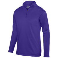 Augusta Sportswear Team Wicking Fleece Pullover - Men's - Purple / Purple