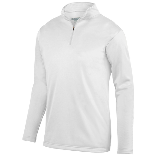 Augusta Sportswear Team Wicking Fleece Pullover - Men's Baseball - White 5507WH