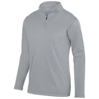 Augusta Sportswear Team Wicking Fleece Pullover - Boys' Grade School - Grey / Grey