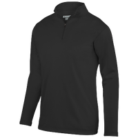 Augusta Sportswear Team Wicking Fleece Pullover - Boys' Grade School - All Black / Black