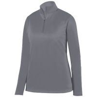 Augusta Sportswear Team Wicking Fleece Pullover - Women's - Grey / Grey