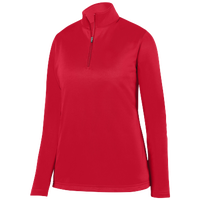 Augusta Sportswear Team Wicking Fleece Pullover - Women's - Red / Red