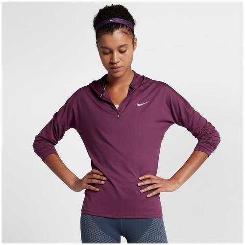 Nike Dry Element Hoodie - Women's Running - Tea Berry 55515659