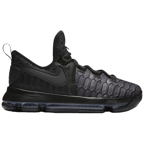 huge discount 79379 e2c6c ... best price nike kd 9 boys grade school basketball shoes kevin durant  black black anthracite 0697c