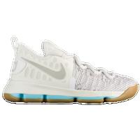 4a5a50982a91 Nike KD 9 - Boys  Preschool - Kevin Durant - Off-White   Grey