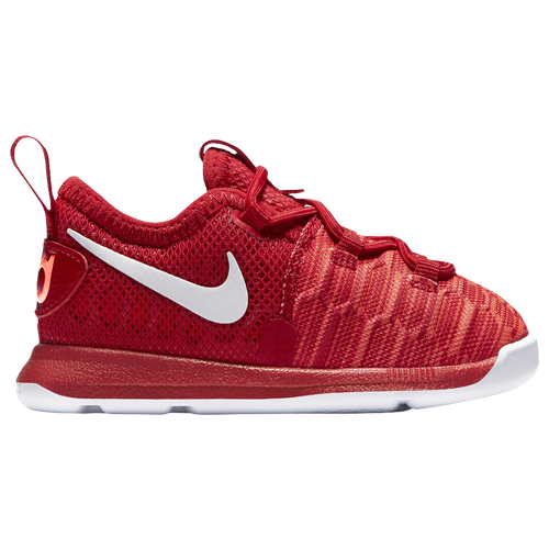 Nike KD 9 - Boys' Toddler - Basketball - Shoes - Kevin Durant - University  Red/White