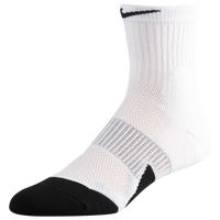 Nike Elite 1.5 Basketball Mid Socks - White / Black