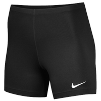 "Nike Team Ace 5"" Shorts - Women's - All Black / Black"