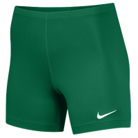 "Nike Team Ace 5"" Shorts - Women's - Dark Green / Dark Green"