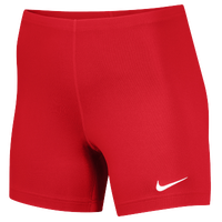 "Nike Team Ace 5"" Shorts - Women's - Red / Red"