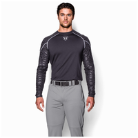 Under Armour Leadoff II Piped Pants - Men's - Grey / Black