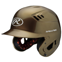 Rawlings Coolflo R16 Junior Batting Helmet - Men's - Gold / White