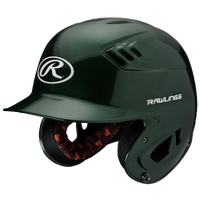 Rawlings Coolflo R16 Junior Batting Helmet - Men's - Dark Green / Dark Green