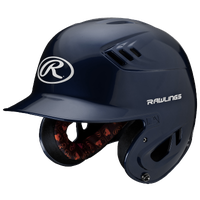 Rawlings Coolflo R16 Junior Batting Helmet - Men's - Navy / Navy
