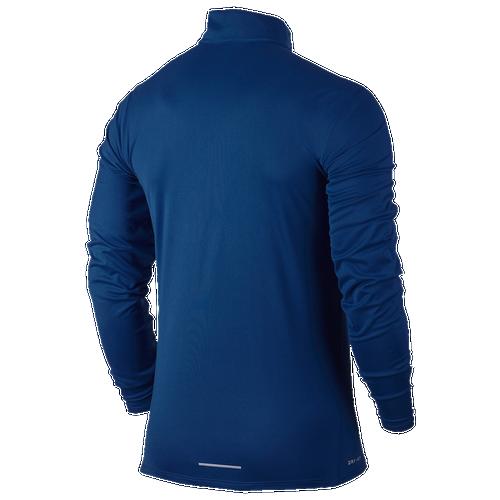 Nike Dri-FIT Core 1/2 Zip Top - Men's Running - Blue Jay 56827433