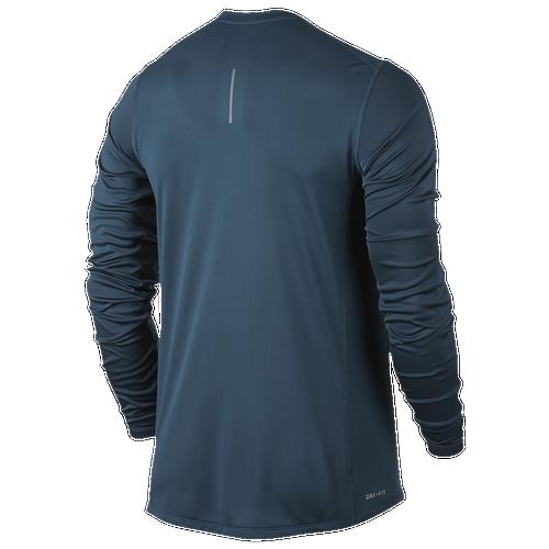 Nike Dri Fit Miler Graphic Long Sleeve T Shirt Men 39 S