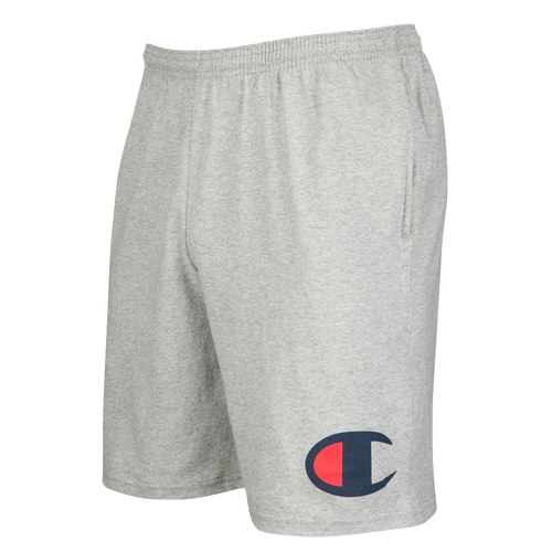 Champion Classic Jersey Shorts - Men's Casual - Oxford Grey 56H91806