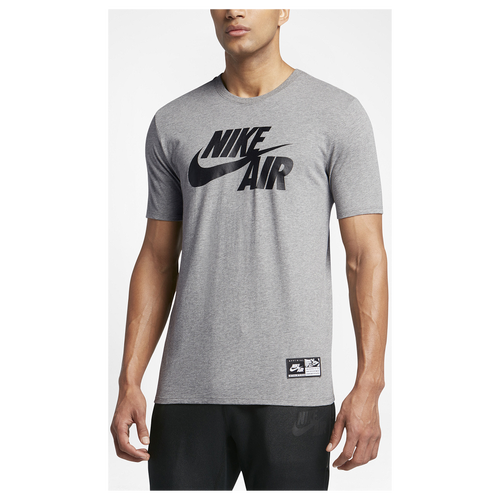 Nike Air Logo T Shirt Men 39 S Casual Clothing Carbon
