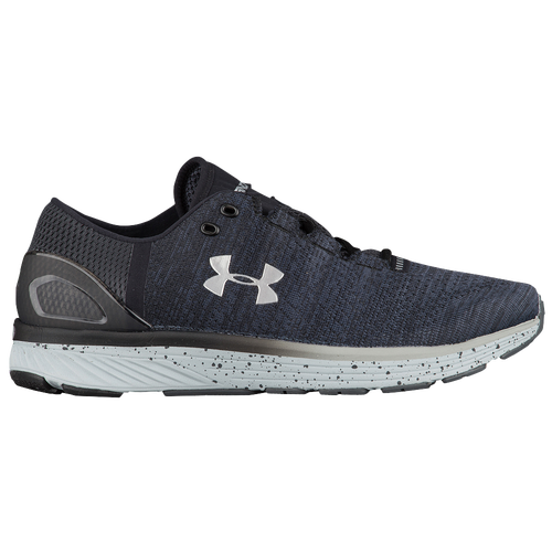 sale uk Under Armour Charged Bandit 3 Men Running Shoes Stealth Grey Black Metallic Silver