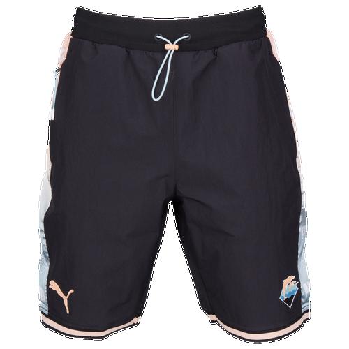 PUMA Cat Nylon Shorts - Men's - Casual - Clothing - Black