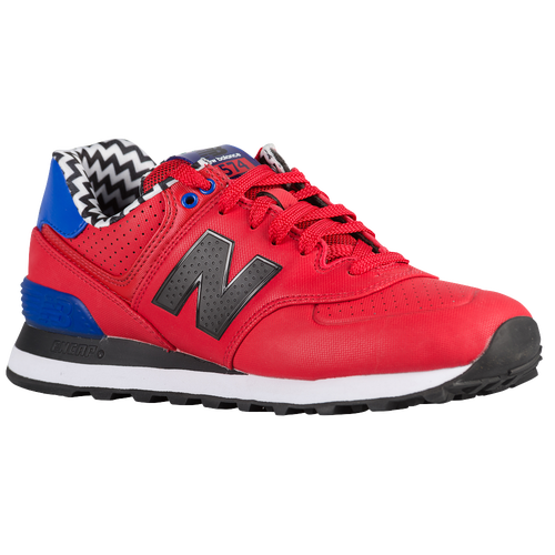 New Balance 574 - Women's Casual - Red/Black 574ACC