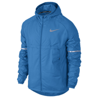 7a91d0e52c0a Nike Shield Run Jacket - Men s - Light Blue   Silver