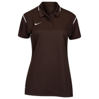 Nike Team Gameday Polo - Women's - Brown / White