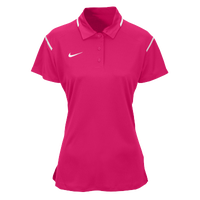 Nike Team Gameday Polo - Women's - Pink / White