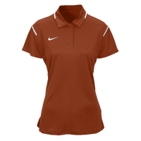 Nike Team Gameday Polo - Women's - Orange / White