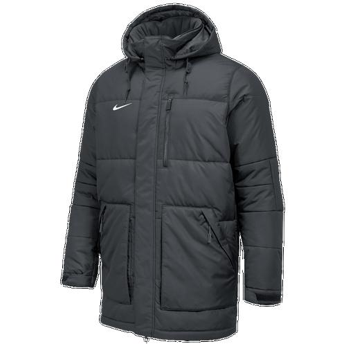 Nike Team Alliance Parka II - Men's For All Sports - Team Anthracite/Team Anthracite/White 58081060