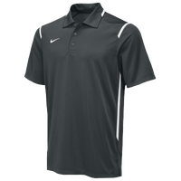 Nike Team Gameday Polo - Men's - Grey / White