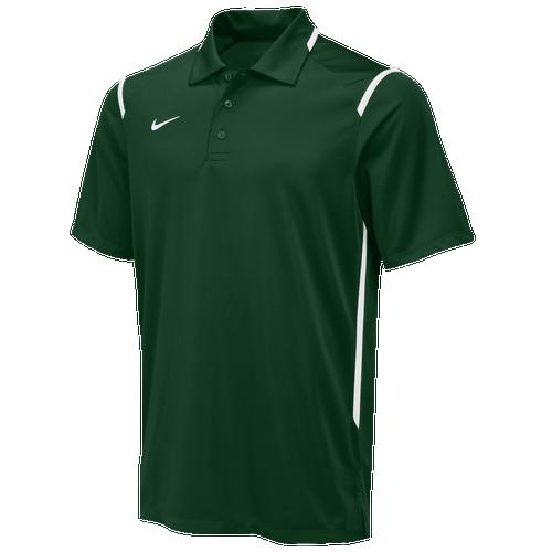 Nike Team Gameday Polo - Men's For All Sports - Team Dark Green/White/White 58085342