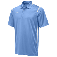Nike Team Gameday Polo - Men's - Light Blue / White