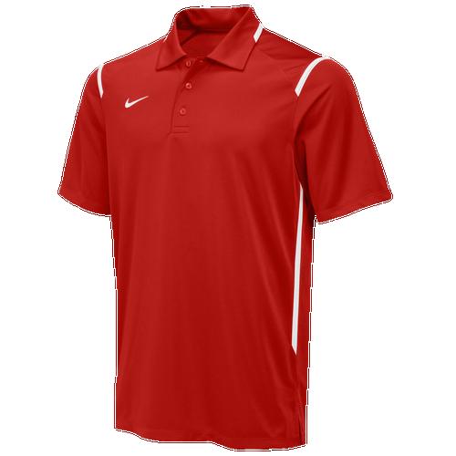 Nike Team Gameday Polo - Men's For All Sports - Team Scarlet/White/White 58085658